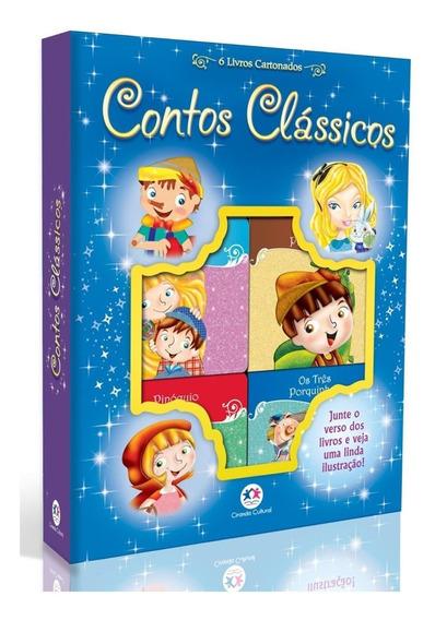 Contos Clássicos - Com 6 Livros Cartonados