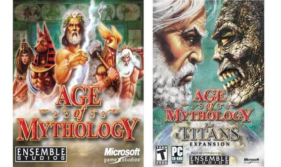 Age Of Mythology + The Titans Pc Digital