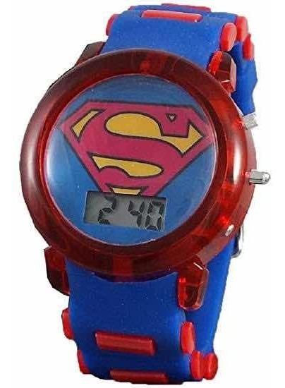 Reloj Supermán Original Dc Cómics Jr