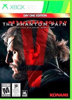 Metal Gear Solid V The Phanton Pain Xbox 360 Fisico Usado
