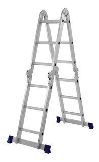 Escada Dobrável 12 Degraus Mor 5131