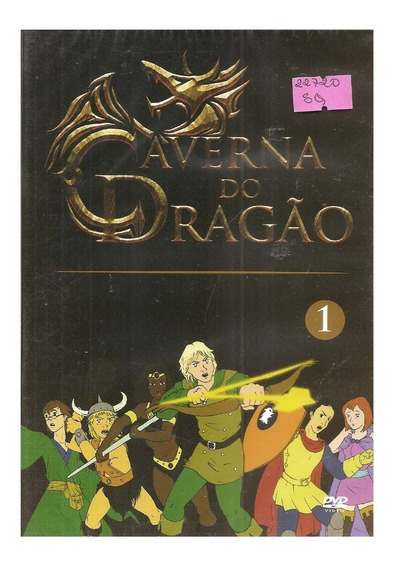Dvd A Caverna Do Dragão 1