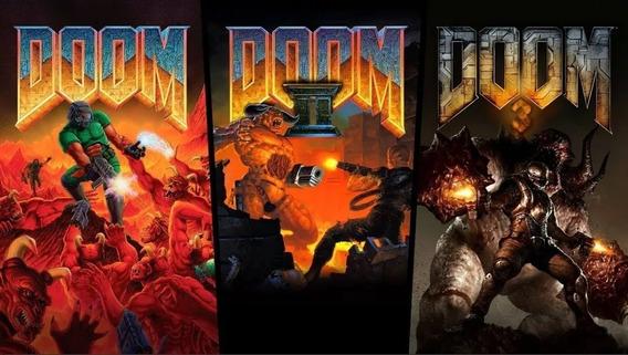 Doom Classic 1, 2 E 3 Nintendo Switch Digital Aluguel 20 Dia