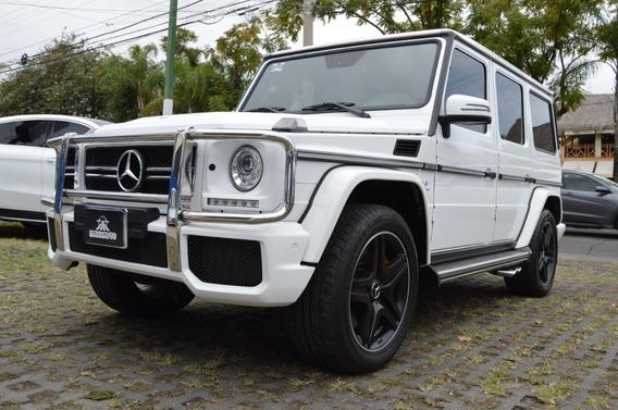 Mercedes Benz Clase G 63 2017 Amg Biturbo Blanco
