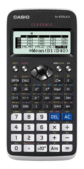 Calculadora Casio Fx 570lax Classwiz