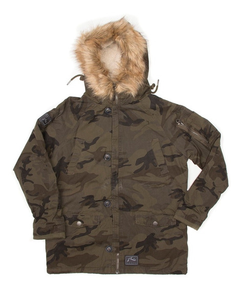 Campera Niño Rusty Selvatian Junior