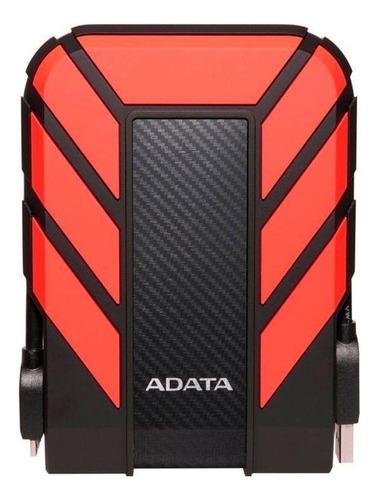 Imagen 1 de 3 de Disco duro externo Adata HD710 Pro AHD710P-1TU31 1TB rojo