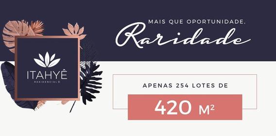 Lotes 420 M2-lançamento Loteamento Itahyê Tamboré Alphaville