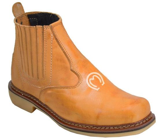 Botina Mangalarga Marchador Country Cowboy Rodeio 100% Couro