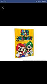 Comic Historieta Súper Mario Adventure