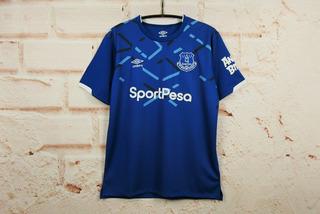 Jersey Everton Inglaterra 2020 - Local Visita- Envio Gratis