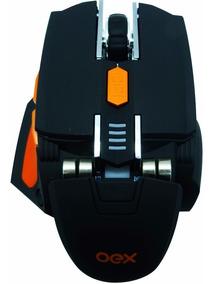 Mouse Gamer Cyber Ms306 5200dpi 7 Botões Ajuste De Peso