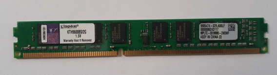 Memoria Ram Kingston Ddr3 2gb