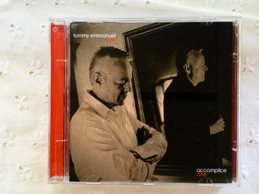 Cd Tommy Emmanuel Cgp - Accomplice One
