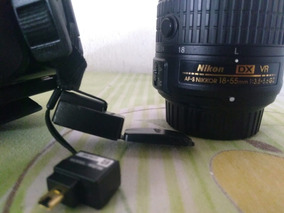 Câmera Nikon D5200 + Lente + Wi-fi + Bateria + Bolsa