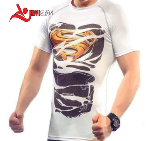Camiseta De Compresion Spiderman