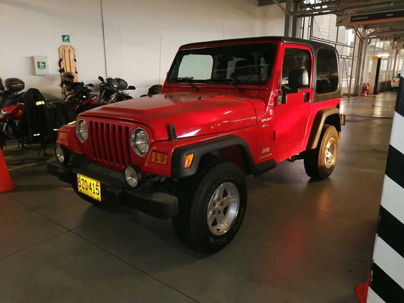 Jeep Wrangler Sport Mec.
