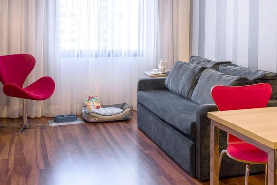 Flat Em Moema Para Locação 1 Dorm 37 M²(11) 97119-0488 Whats