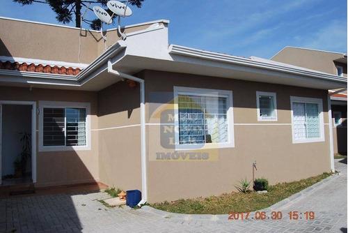 Casa Com 3 Dormitórios À Venda, 65 M² Por R$ 250.000,00 - Umbará - Curitiba/pr - Ca0082