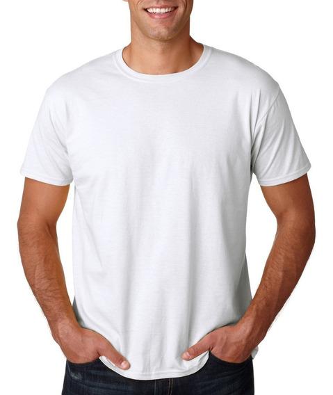 20 Camisetas Branca Adulto Para Sublimação 100% Pol. Camisas