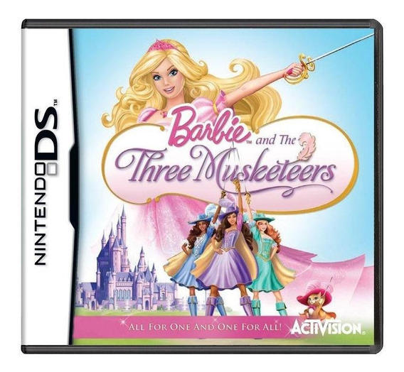 Barbie And The Three Musketeers Ds Mídia Física