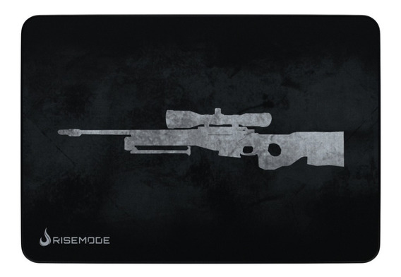 Mousepad Rise Mode Gamer Sniper Grey -g - Costu Rg-mp-05-snp