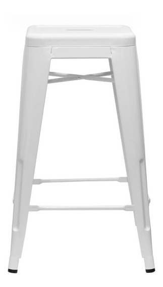Piso Taburete Form Design 66 Cm Tolix Blanco