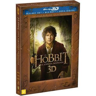 Blu-ray 3d O Hobbit - Uma Jornada Inesperada