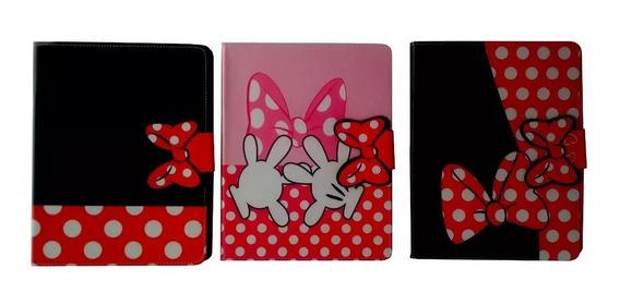 Capa Case iPad 2, 3 E 4 Minnie