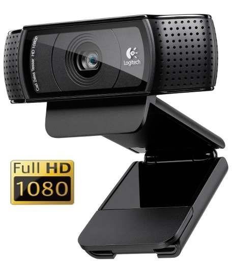 Web Cam Logitech C920 Pro Full Hd 1080 P Nfe E Garantia