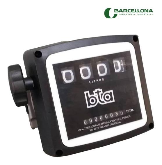 Cuenta Litros Caudalimetro Gasoil Bta Mecanico 4 Digitos Cts