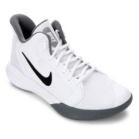 Tênis Nike Precision Iii - Branco E Preto