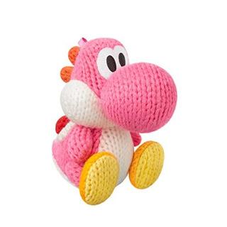 Pink Yarn Yoshi Amiibo Yoshis Woolly World Series
