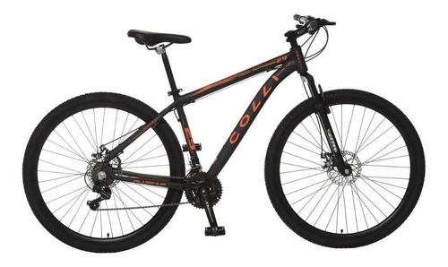 Bicicleta Colli Shiman 21m Pto/laranja Neon A.29 F.disc