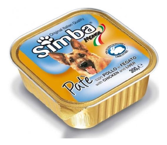 Alimento Para Perro -simba Pate Pollo E Higado 300 Gr