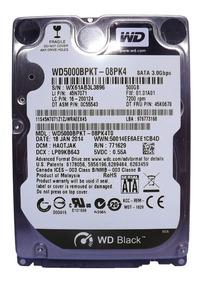 Hd De 500gb Western Digital P/notebook