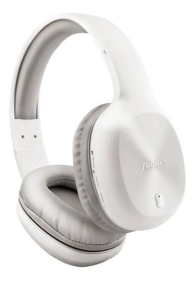 Audífonos Bluetooth On-ear Fiddler Con Manos Libres Blanco