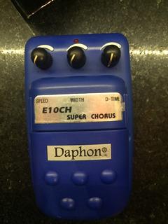 Pedal Efecto Daphon Super Chorus E10ch Plastico