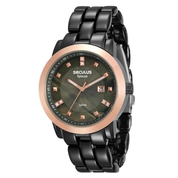 Relógio Seculus Feminino Aplause - 20422lpsvua6