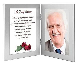 Hombre De Condolencias Regalo En Amorosa Memoria De Un Mari
