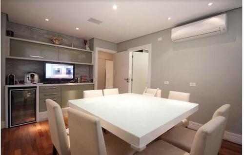 Belíssimo Apartamento Alto Padrão 330 Metros  4 Dormitórios 3 Suítes 3 Vagas, Escritório + 6 Vagas Visitante! - 15016