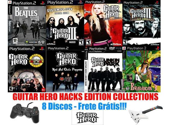 Guitar Hero Hacks Edition Collections - Playstation 2g