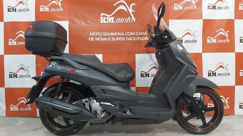 Imagem 1 de 7 de Dafra Citycom S 300i Cbs 2020 Preta