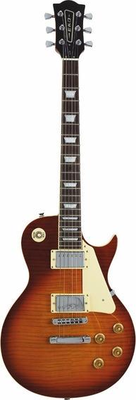 Guitarra Electrica Tipo Les Paul Honey Burst Eko Vl-480 Hb