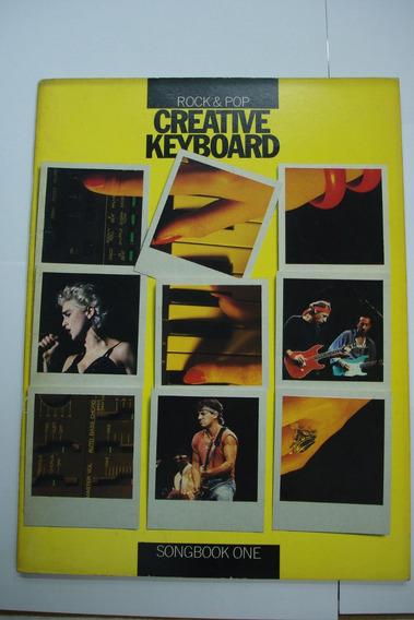Livro - Teclado Creative Keyboard Rock & Pop - One