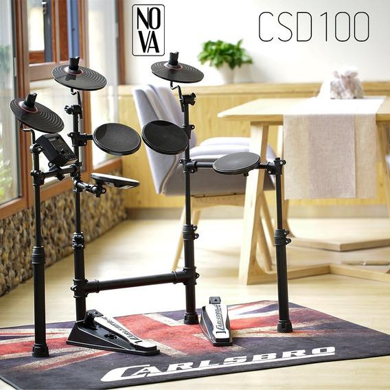 Bateria Eletrônica Digital Carlsbro Csd100 - C/ Nota Csd 100
