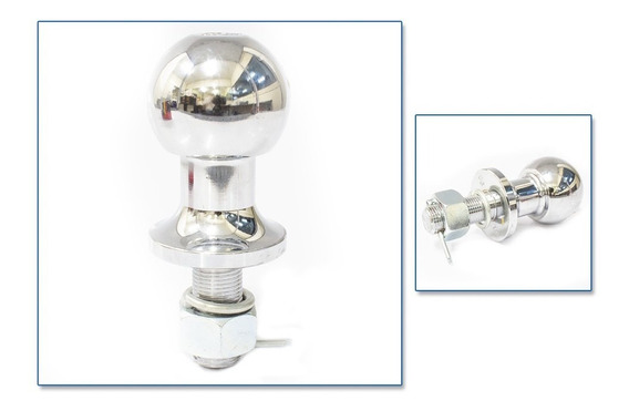 Bola Para Engate De Reboque 50mm Aço Cromado - Engatcar