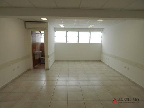 Sala Para Alugar, 50 M² Por R$ 1.500,00/mês - Nova Petrópolis - São Bernardo Do Campo/sp - Sa0501