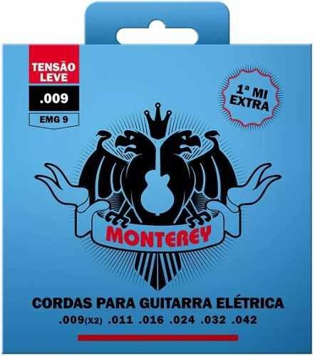 Encordoamento Para Guitarra Solez Monterey Emg9 009