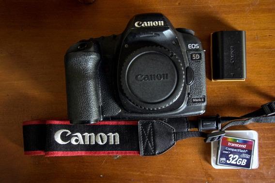 Camera Canon 5d Mk Ii + Objetiva Canon 28-80mm F3.5-5.6
